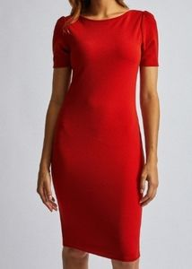 Dorothy Perkins Red Bodycon Dress